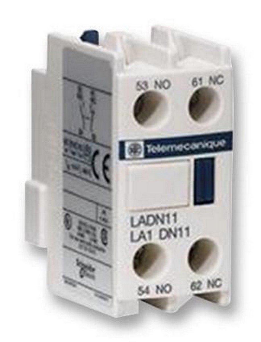Schneider Electric LADN13 TeSys D, Bloque de contactos aux, 1 NO + 3 NC, conexió n por tornillo conexión por tornillo LADN20