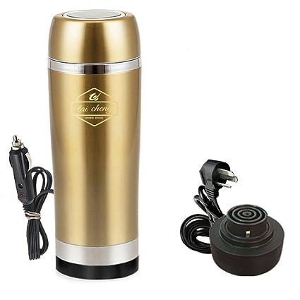 Tazas de la taza eléctrica del coche del acero inoxidable del Portable 12V 350ml Tazas de