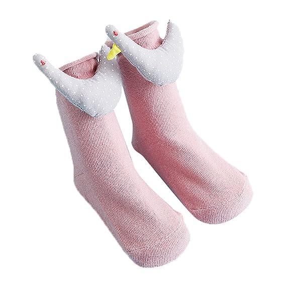 Newin Star - Calcetines bebé,Calcetines Antideslizantes,Dibujo Animado Lindo Suave y Transpirable Algodón