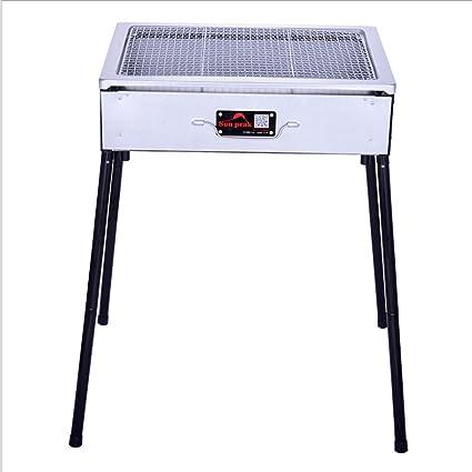 BBQ Parrilla para Barbacoa, Parrilla al Aire Libre, Parrilla de Carbón, Parrilla de