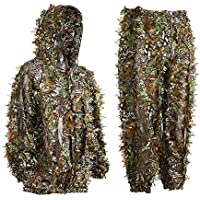 Eamber Ghillie Suit 3D Leaf Realtree Camo Camouflage...