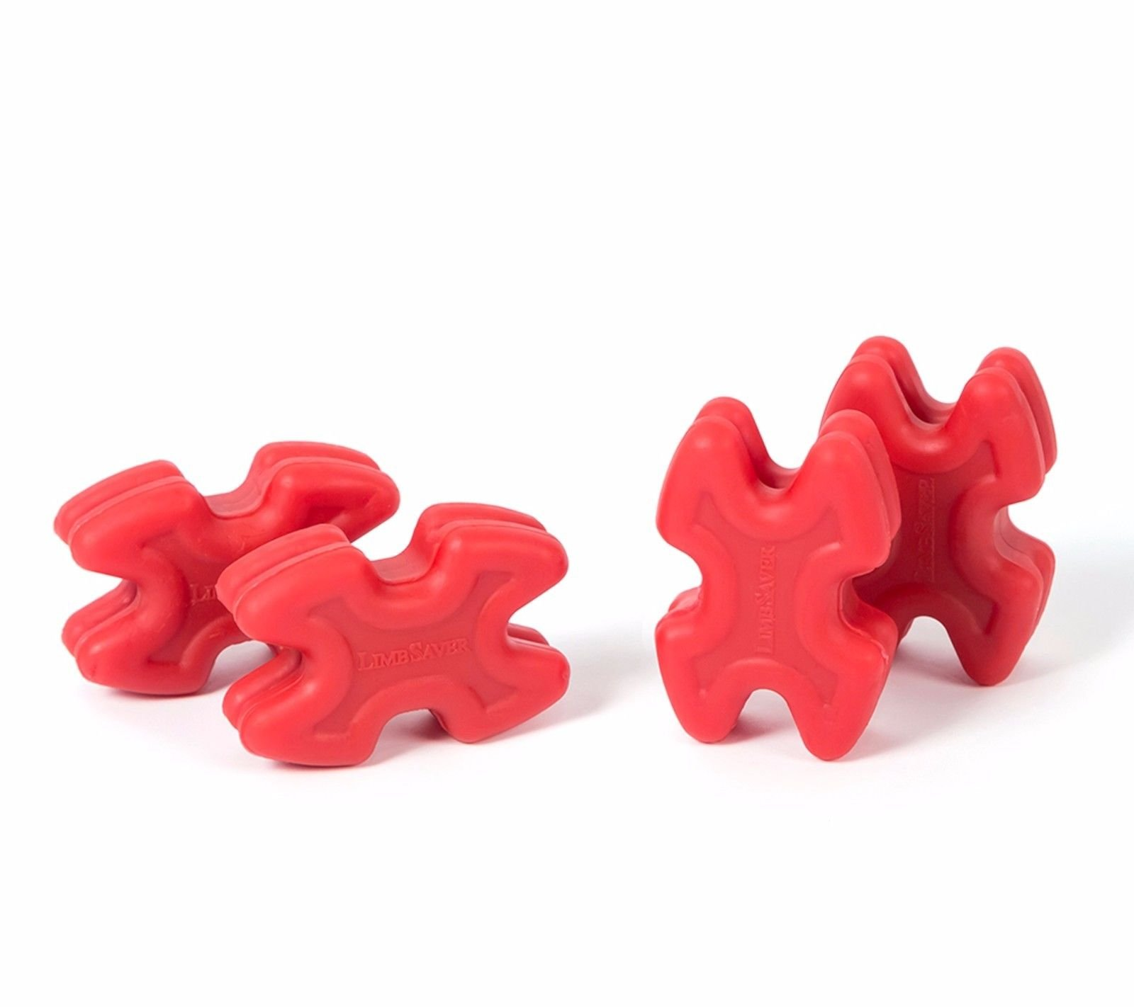 LimbSaver 4726 TwistLox Dampener for Split Limb Bows, Red
