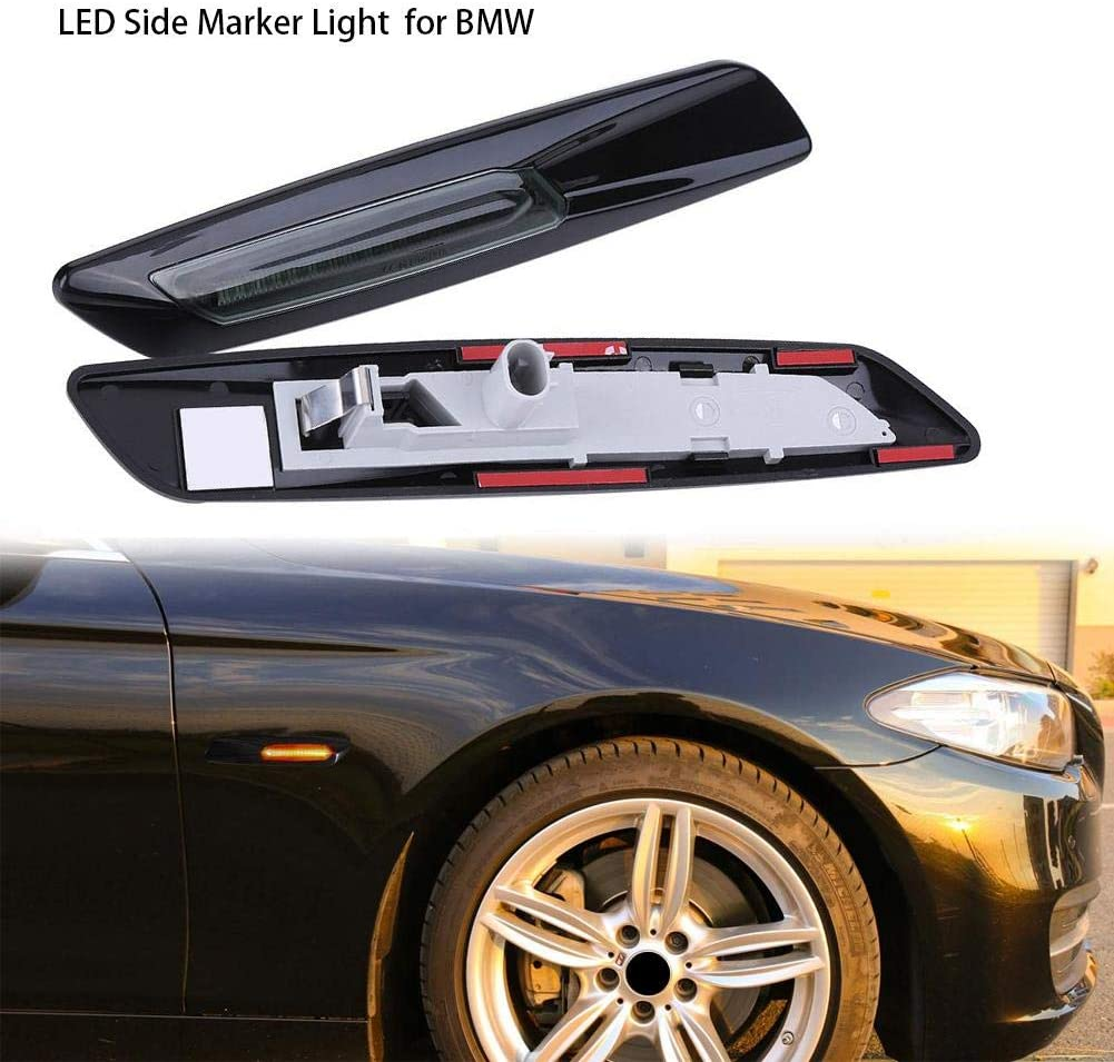 mbition Luce Laterale Laterale per BMW Serie 3 Serie 5 Luce Laterale A LED Gialla