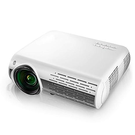 Proyector HD 1080P (1920 x 1080) 5000 Lúmenes Portátil Proyector ...