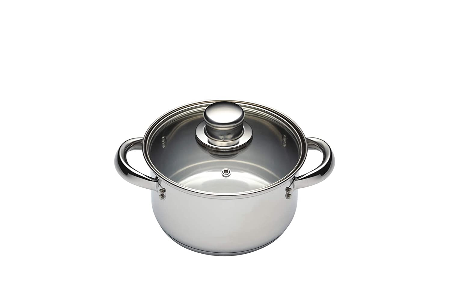 Kitchen Craft Clearview - Vaporera de 3 pisos de acero inoxidable (16 cm): Amazon.es: Hogar