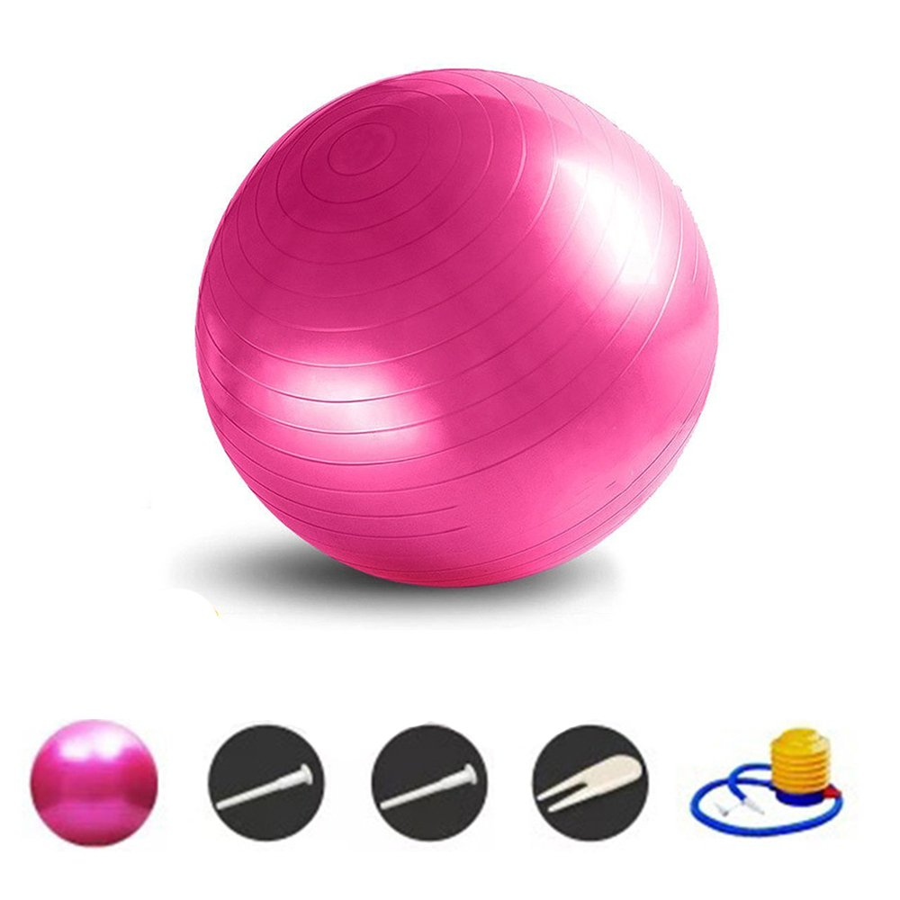 Humefor Anti Burst Fitness Yoga Ball Gymnastikball 45 cm Durchmesser