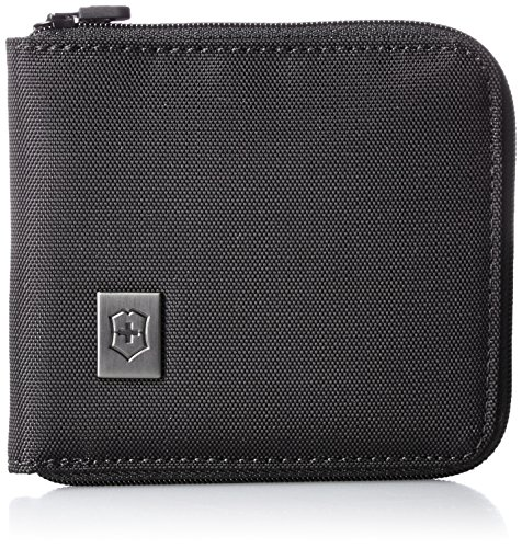 Victorinox Zip-Around Wallet, Black Logo ()