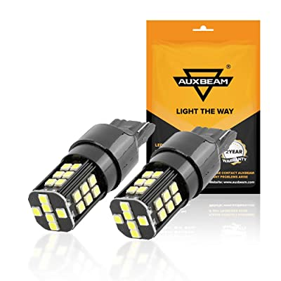 Auxbeam 7440 LED Bulbs, 7440 Turn signal Light Bulbs 6000K 800 Lumens 30W 3030 30-SMD Chips 12V LED 7440 Bulb Xenon White for Reverse Light, Back Up Light, Tail Light, Fog Light, Turn signals brake li: Automotive
