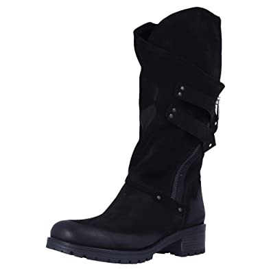 Schwarz 120 Damen ÜbergrößenGröße Stiefel BABOOS 42 10 40 j354LAR