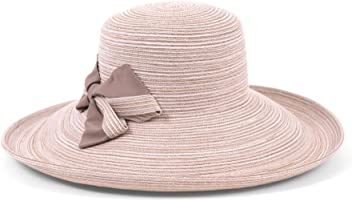 59b8ddd5 Physician Endorsed Women's Southern Charm Packable Sun Hat with Bow, Rated  UPF 50+ for