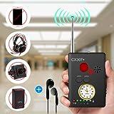 "Anti-spy Camera Bug RF Signal Detector [Enhanced Version], Dooreemee Wireless Hidden Camera GPS Tracker Higher Sensitivity Multi-functional GSM Device Finder(2"" X 0.6"" X 2.9"", 1.6oz, Handheld)."