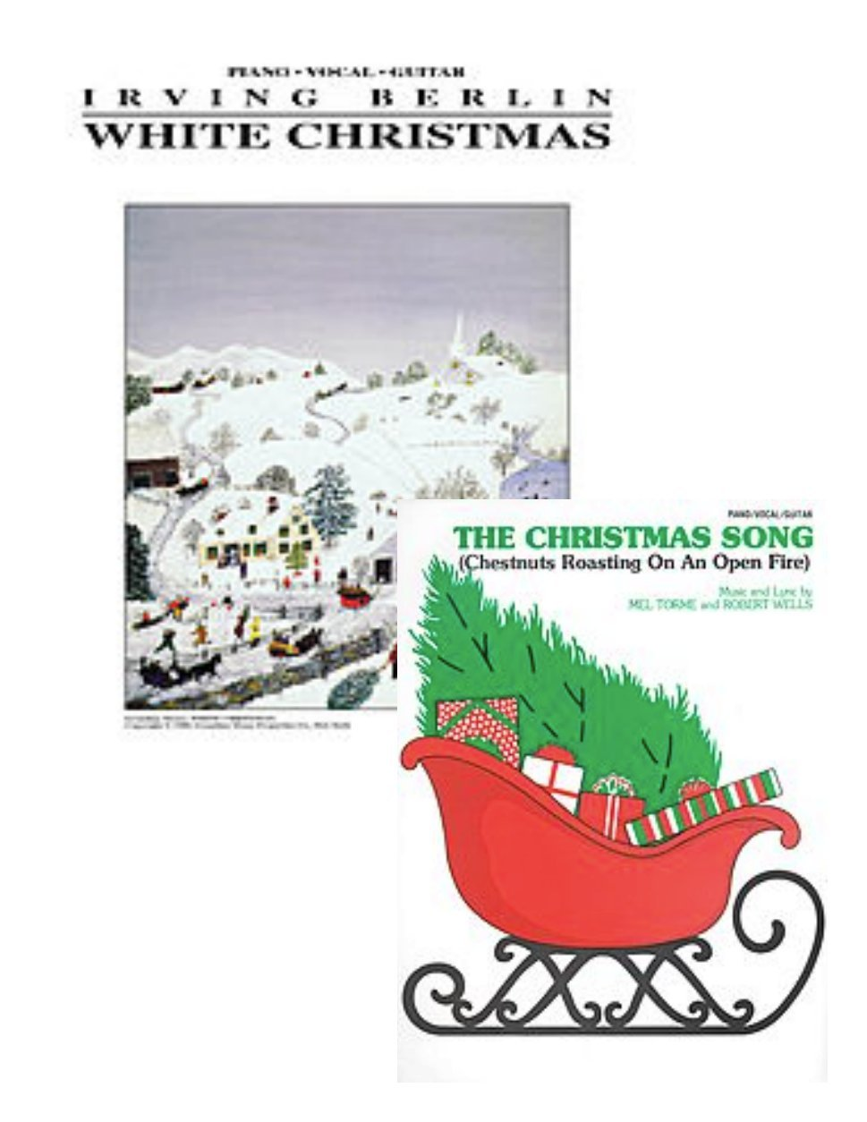 White Christmas for Piano/Vocal/Guitar - Difficulty: easy-medium AND ...