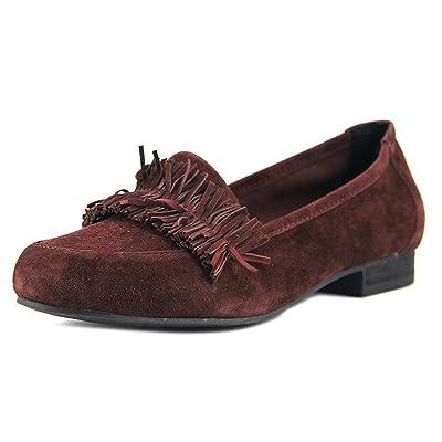 Amazon.com   Adam Tucker Women's Marcela Suede Loafer   Loafers & Slip-Ons