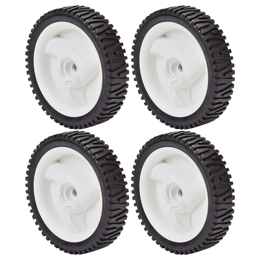 Oregon (4 Pack) Drive Wheel 8 x 200 Semi Pneumatic Wheel for Sears Craftsman 194231x427 # 72-033-4pk by Oregon (Image #1)