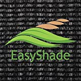 Easyshade 60% Sunscreen Black Shade Cloth UV Fabric (20ft x 20ft) For Sale