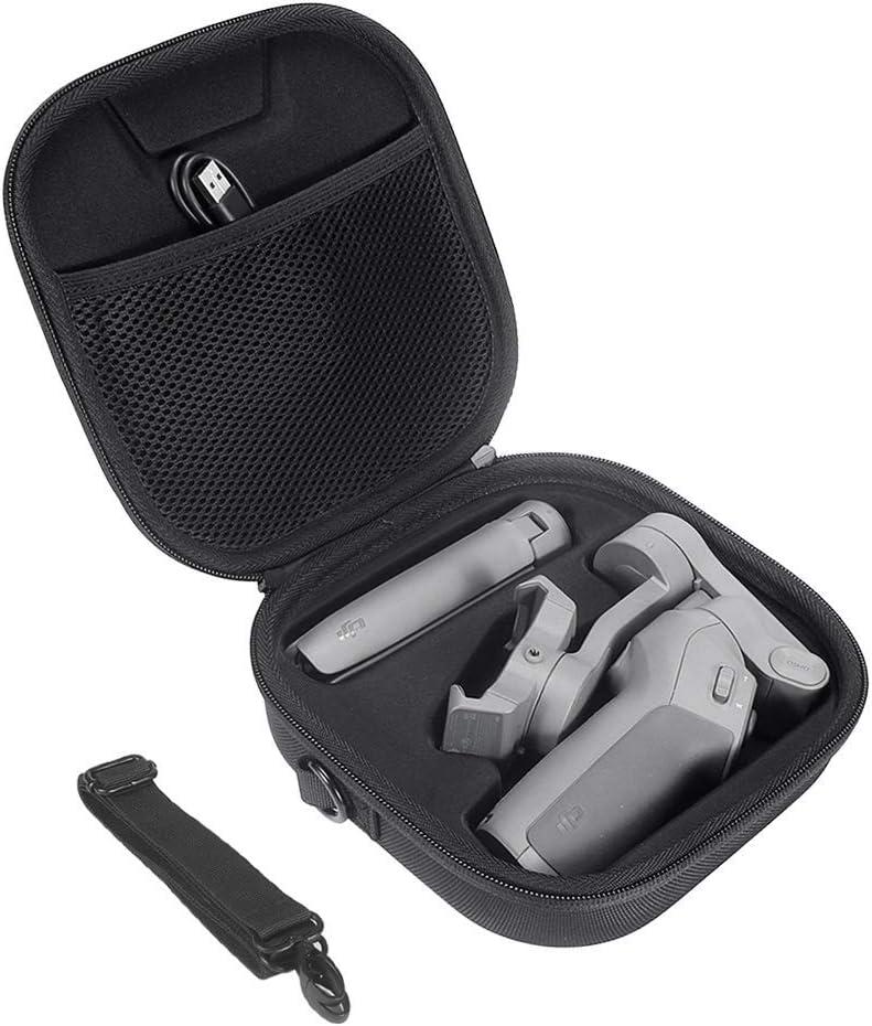 Eyglo Estuche Rígido para dji Osmo Mobile 3/dji OM 4 Combo Kit - Estabilizador de 3 Ejes para Smartphone Estuche Protector Estuche de Viaje con Correa para el Hombro: Amazon.es: Hogar