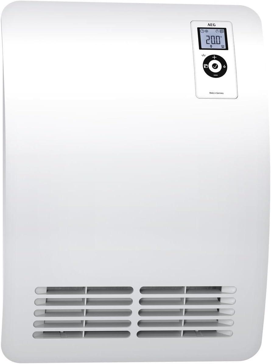 AEG Casa técnica 238722Ventilador Calefacción VH Comfort para cuarto de baño, color blanco