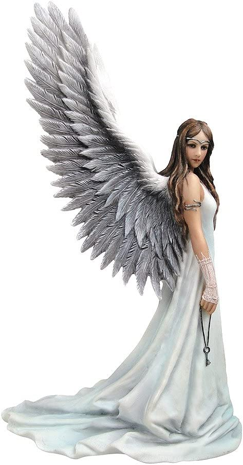 "VERONES 9"" Spirit Guide Gothic Angel Statue Fairy Figurine Anne Stokes Figure Sculpture"