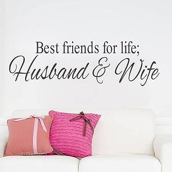 Amazon.com: ZooYoo Wife Quotes Love Romantic Wall Decals ...