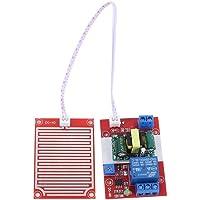 MEROURII Módulo de Sensor de Gotas de Lluvia de 220 V, Controlador de Gotas de Lluvia Sensor de Gotas de Lluvia Humedad…