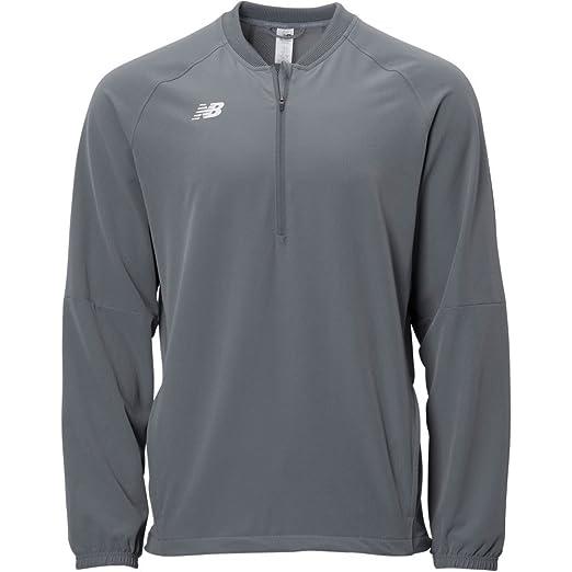 53945708013cf Amazon.com : New Balance Men's NB Dry Long Sleeve 3000 Batting Jacket :  Clothing