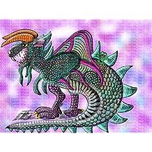 "Print - Dragon Carrotacterrus Dragon and Mel The Frog 13"" x 19"" Fine Art Print"