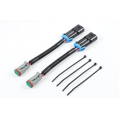 Starkey Products Fog Light Wiring Adapters H10 to Deutsch Set: Automotive