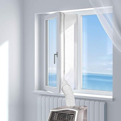 Hoomee 300cm Guarnizione Universale Per Finestre Per Condizionatore Portatile Asciugatrice Per Tutti I Condizionatori Portatili Facile Da