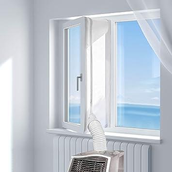 Hoomee 400cm Tissu De Calfeutrage De Fenêtres Pour Climatiseur