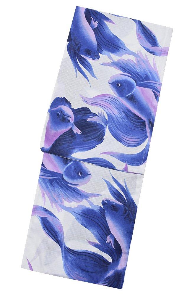 [ KIMONOMACHI ] LADY STYLE 女性用浴衣単品 全16柄 サイズ豊富 B072QL2K5R F|浴衣07 浴衣07 F