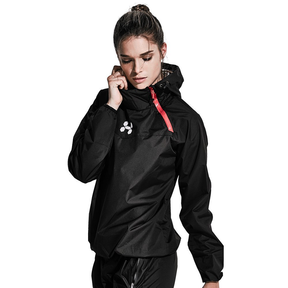 HOTSUIT Sauna Suit Women Weight Loss Boxing Gym Sweat Suits Workout Jacket