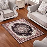 Rug WAN SAN QIAN- Simple European-style Living Room Rectangular Carpet Bedroom Bedside Soft And Comfortable Carpet (Color : B, Size : 80x120cm)