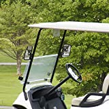 BETOOLL HW9008 Golf Cart Folding Side View Mirrors