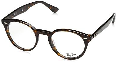 Ray-Ban Herren 2180V Brillengestelle, Schwarz (Negro), 49