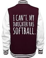 Softball Mom Shirts: Ladies Fleece Letterman Varsity Jacket