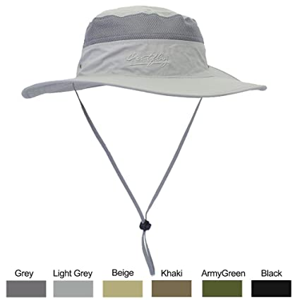 f62b8dadb6550 Amazon.com  WELKOOM Sun Hat Men   Women
