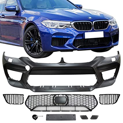 Amazon Com Front Bumper Cover Fits 2017 2019 Bmw G30 4dr Sedan M5