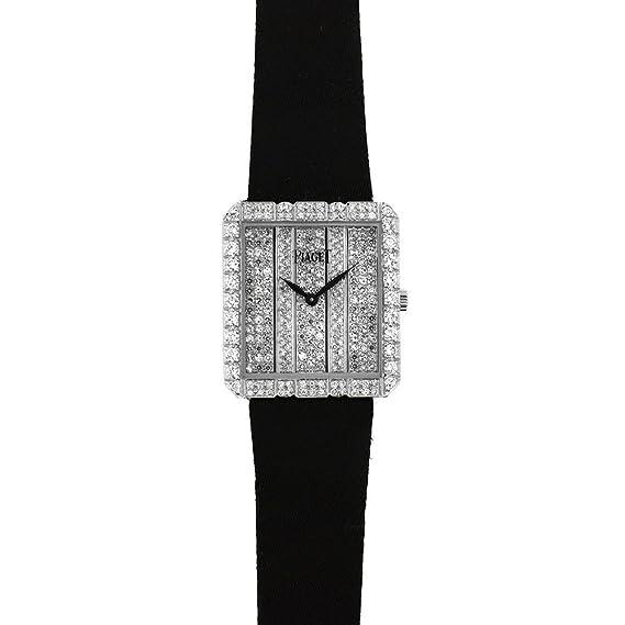 Piaget Vintage vestido cuarzo mujer reloj 81635 (Certificado) de segunda mano