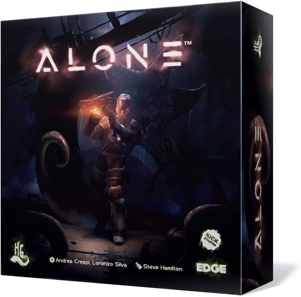Edge Entertainment- Alone - Juego de Mesa Castellano, Color (EEHGAL01): Amazon.es: Juguetes y juegos