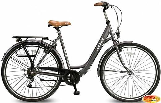 Bicicleta holandesa para mujer de 7 velocidades Altec Metro gris ...
