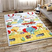 Cusphorn Fashion Music Party Kids Rug Bedroom Living Room Rugs Baby Crawling Carpets Foot Mats Area Rugs