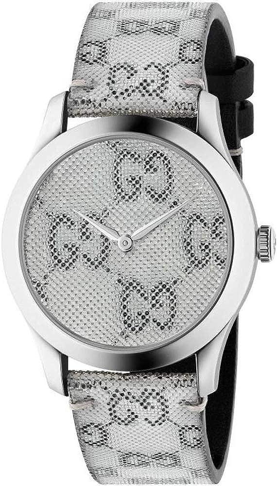 Reloj Gucci YA1264058 Gris Acero 316 L Unisex