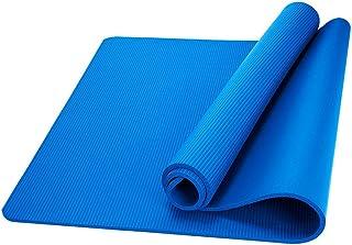 zhang-hongjun,Santé et Remise en Forme, épais Tapis de Yoga Confortable en Mousse de 1 cm de Long(Color:Bleu)
