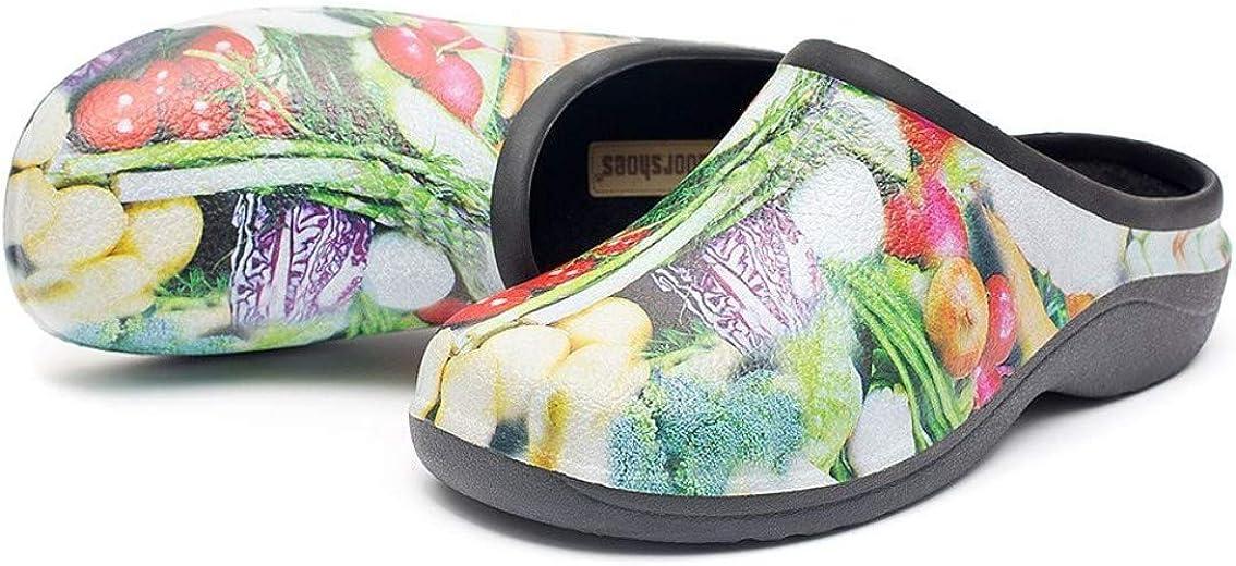 backdoorshoes Sabots pour Femmes Confortable Anti d/érapage Jardin Chaussures