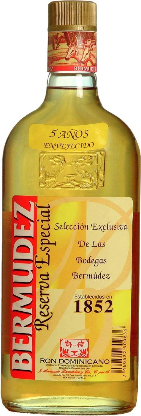 Bermudez Ron 5 Años Reserva Especial - 700 ml: Amazon.es ...