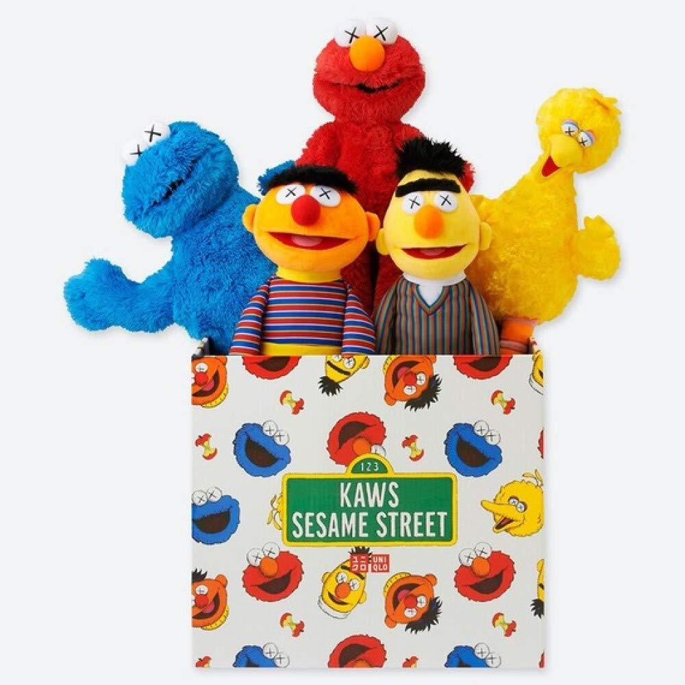 UNIQLO Street x KAWS x Sesame Street ユニクロカウズ セサミストリート KAWS Sesame トイコンプリートボックス B07KS6SLL7, ボディピアス専門店 スリーナイン:b616d072 --- ijpba.info