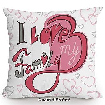 Amazon.com: FashSam - Funda de cojín decorativa, diseño ...