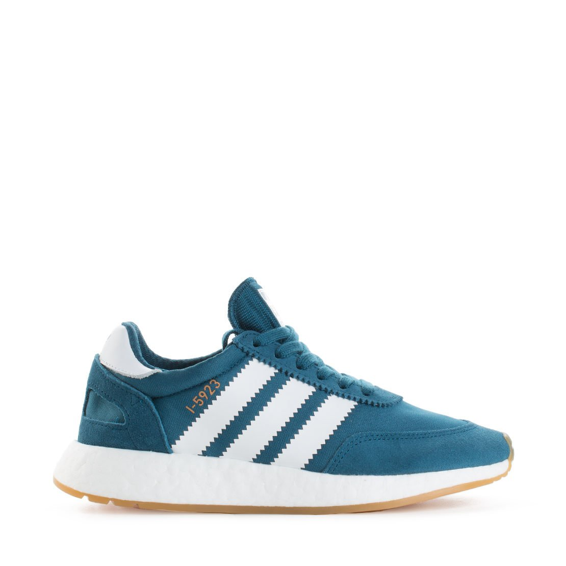 adidas Iniki Women's Off-White Sneakers B078TS99NK 7.5 M US|Blue / White