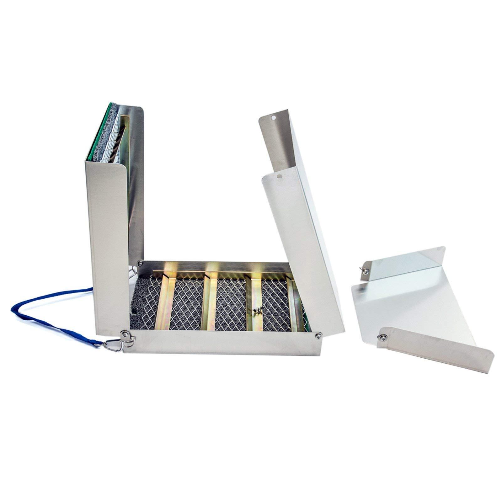 ASR Outdoor ASROFASBS Gold Pan Sluice Box, 50'' Silver by ASR Outdoor
