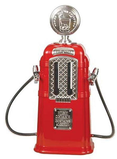 JASNO Dispensador De Licor De La Bomba De Gas Doble Cromado Capacidad De 1080 ML Accesorios